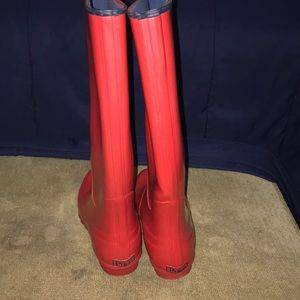 Women's polo rain boots